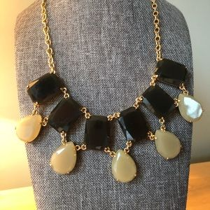 Kate Spade taupe and brown necklace